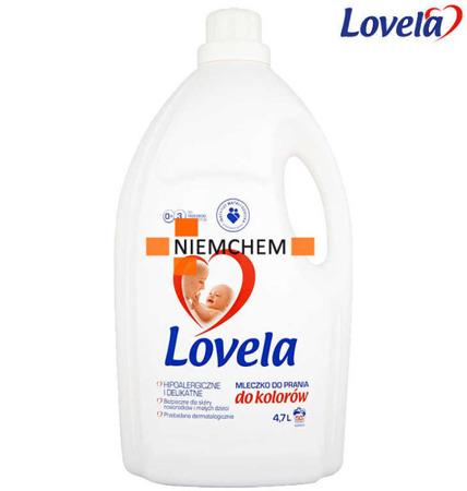 Lovela Mleczko do Prania Kolor dla Dzieci i Niemowląt 4,7L XL