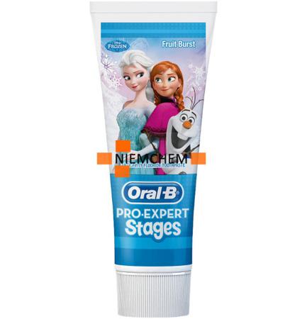 Oral-B Stages Frozen Pasta do Zębów dla Dzieci 75ml UK