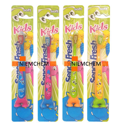Sencefresh Kids Soft Szczoteczka do Zębów dla Dzieci Przyssawka 3+ NL