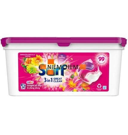 Surf Color Tropical Lily & Ylang Ylang Kapsułki do Prania 34szt