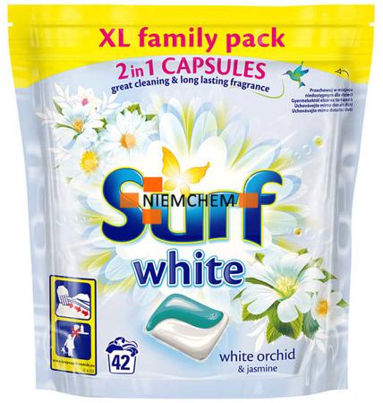 Surf White Orchid Kapsułki do Prania Białego 42szt