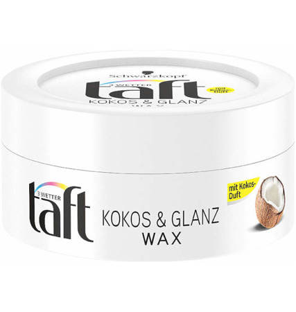 Taft Kokos & Glanz Wosk do Włosów 75ml DE