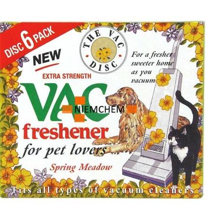 Vac Spring Meadow Zapach do Odkurzacza 6szt UK