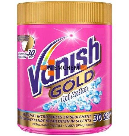 Vanish Gold Odplamiacz Proszek do Koloru 470g BE