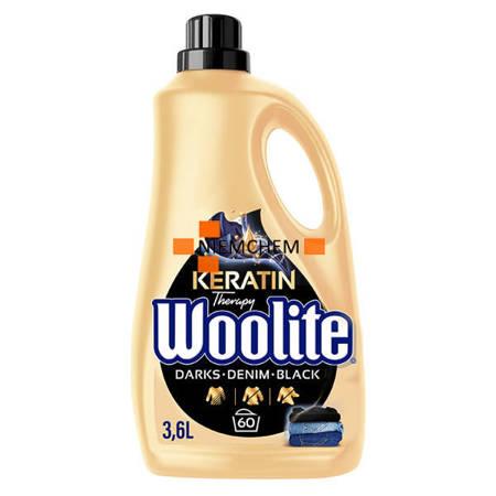Woolite Dark Denim Black Płyn do Prania Ciemnego Jeans'u 60pr 3,6L